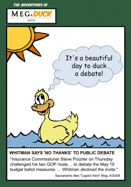 It is a Beautiful Day to Duck a Debate!